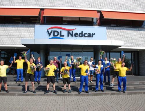 Coördinatoren VDLNedcar Gefeliciteerd!