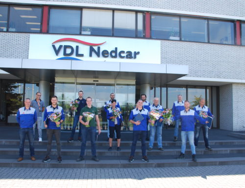 Rayonleiders VDLNedcar Gefeliciteerd!